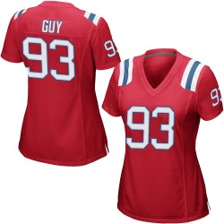 Lawrence Guy New England Patriots Women's Game Alternate Nike Jersey - Red